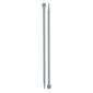 Birch 25 cm Knitting Needles Silver