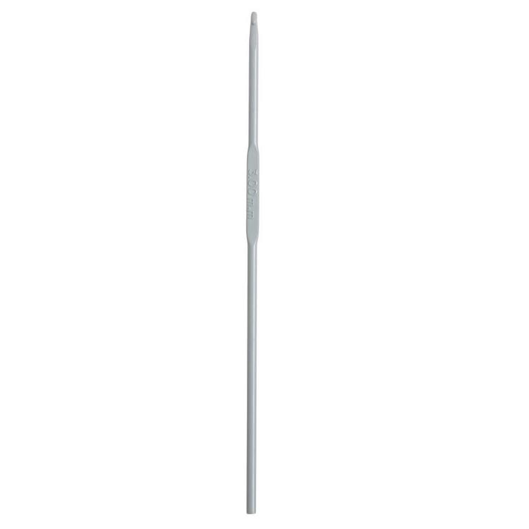 Birch Anodised Crochet Hook Grey