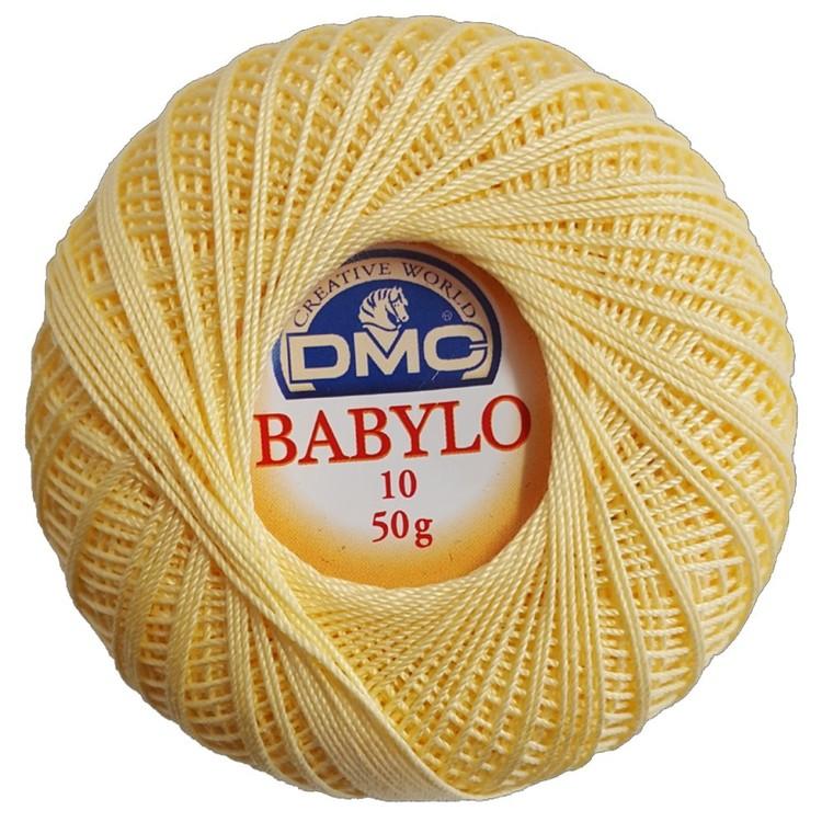 DMC Babylo 50 G Crochet Cotton Thread No. 10 50 g