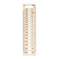 Birch Knitting Pin Gauge White small