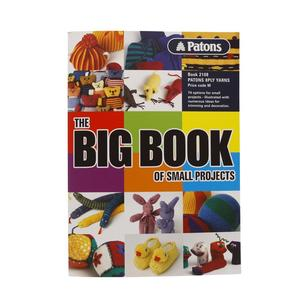 Patons Big Book Small Projects Pattern Book