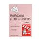 Craft Moods Quickly Knit Clothes Doll White