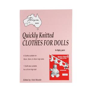 Craft Moods Quickly Knit Clothes Doll