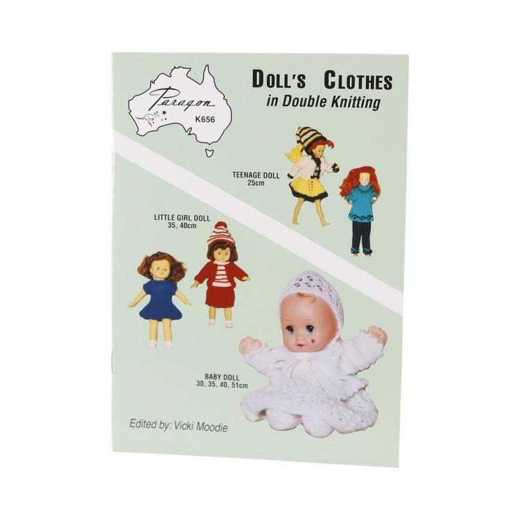 Craft Moods Dolls Clothes Double Knit Volume 2 Green