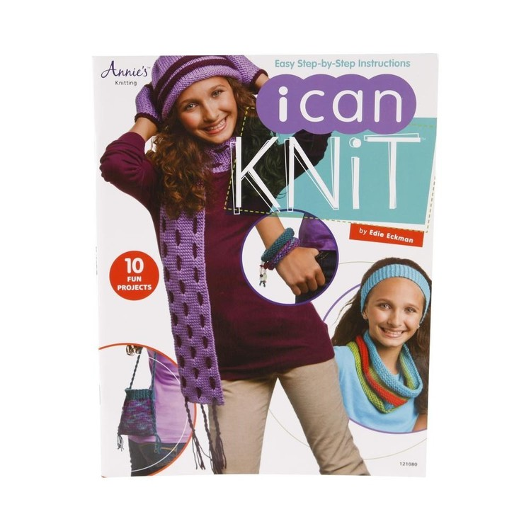 American School Of Needlework I Can Knit Multicoloured