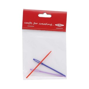 Arbee Plastic Darning  Needle 4 Pack