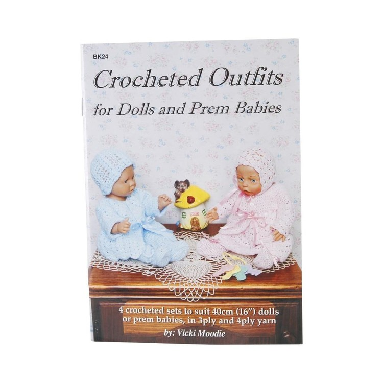 Craft Moods Crochet Outfits Dolls & Perm Babies Blue