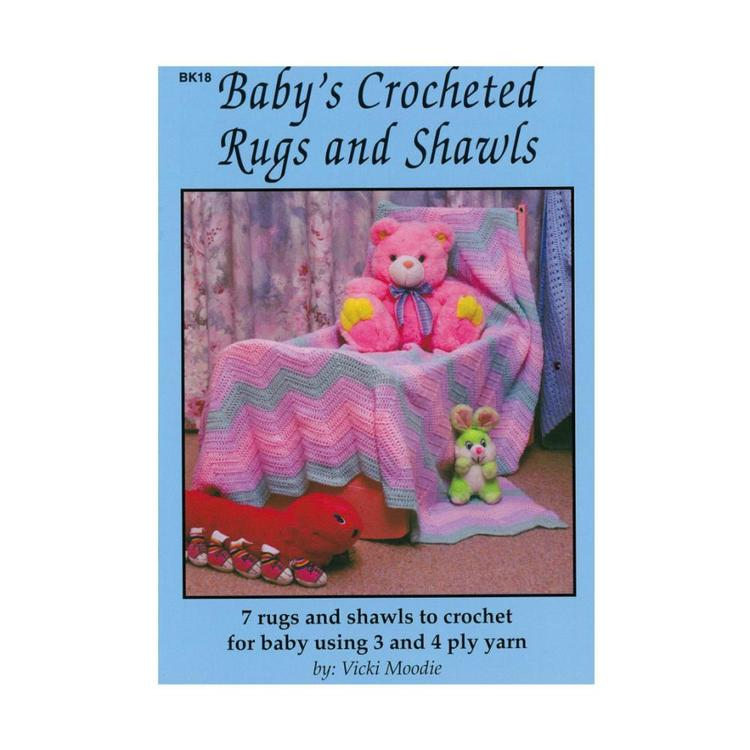 Craft Moods Baby's Crocheted Rugs & Shawls White