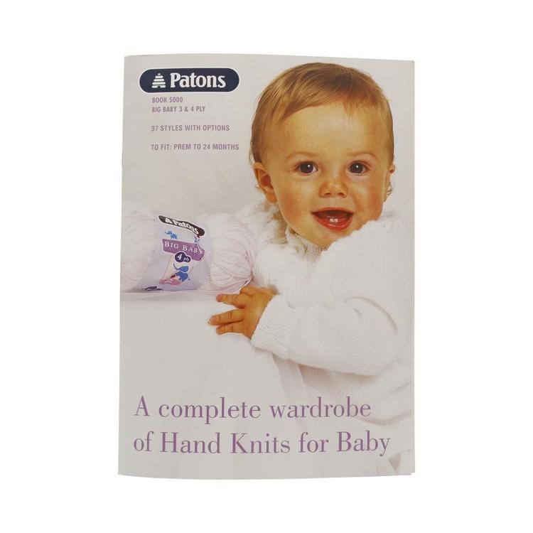 Patons Pattern Big Baby Book