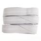 Birch Fitted Sheet Elastic White