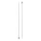 Birch Plastic Needles White 25 cm