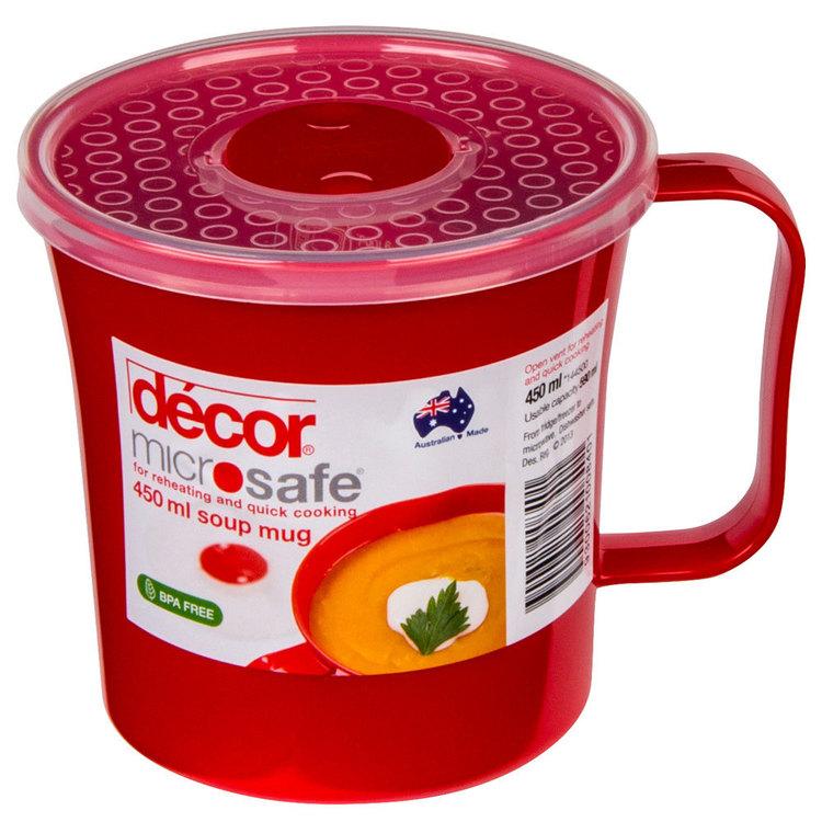 Decor Microsafe Soup Mug 450 mL