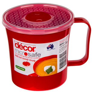 Decor Microsafe Soup Mug 450 mL