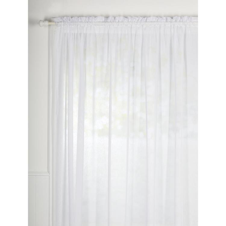 Filigree Snow Voile White 213 cm