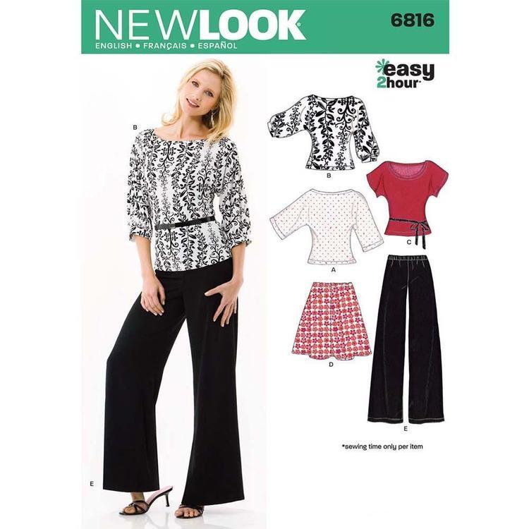 New Look Pattern 6816 Women's Coordinates
