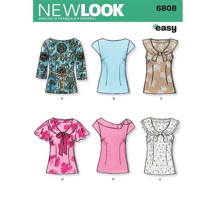 New Look Pattern 6808 Women's Dress