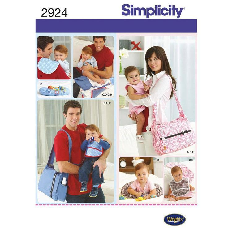 Simplicity 2924 Baby Bag  One Size