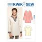 Kwik Sew K3601 Pull-Over Tops  X Small - X Large