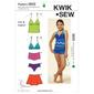Kwik Sew K3605 Mix & Match Swimwear  4 - 14