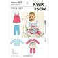 Kwik Sew K3607 Jumper Top & Leggings X Small - X Large