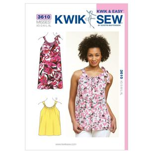 Kwik Sew Pattern K3610 Top & Dress