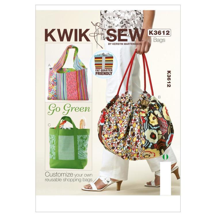Kwik Sew Pattern K3612 Bags