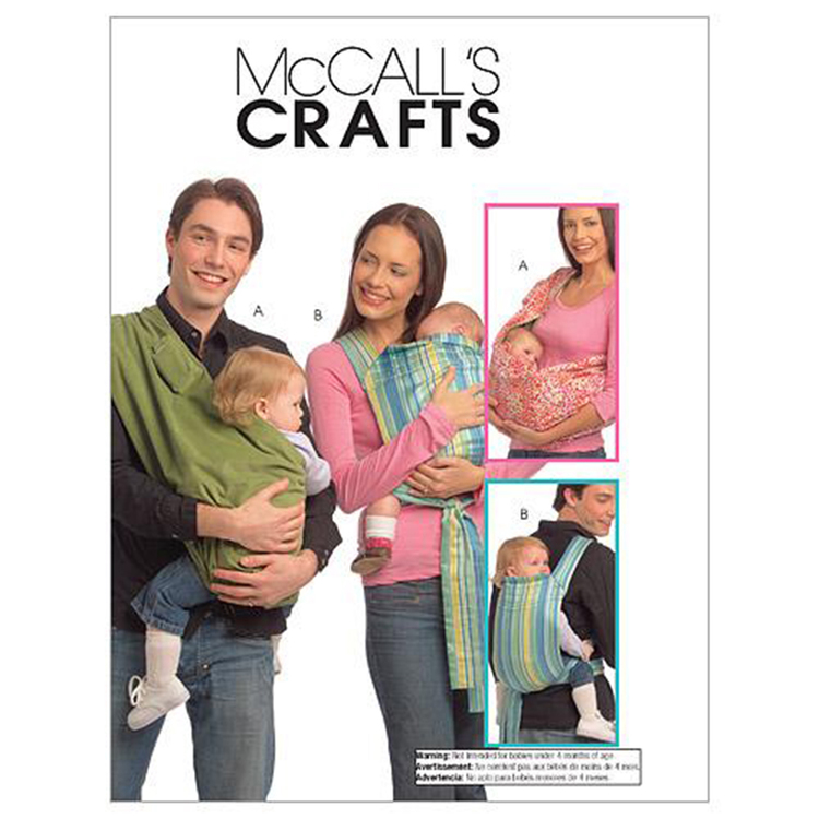 McCall's Pattern M5678 Baby Carriers
