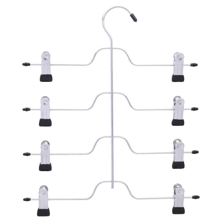 L.T. Williams 4 Tier Multi Clip Skirt Hanger