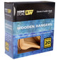 L.T. Williams Timber Hanger Boxed 20 Pack Natural