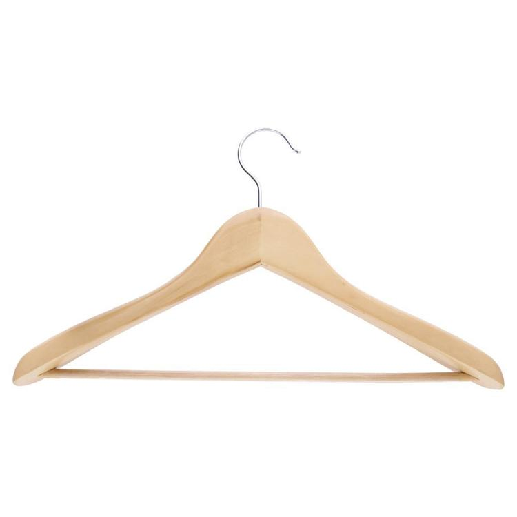 L.T. Williams Deluxe Suit Hanger 2 Pack Natural