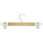 L.T. Williams Wooden Clip Hangers 2 Pack Natural
