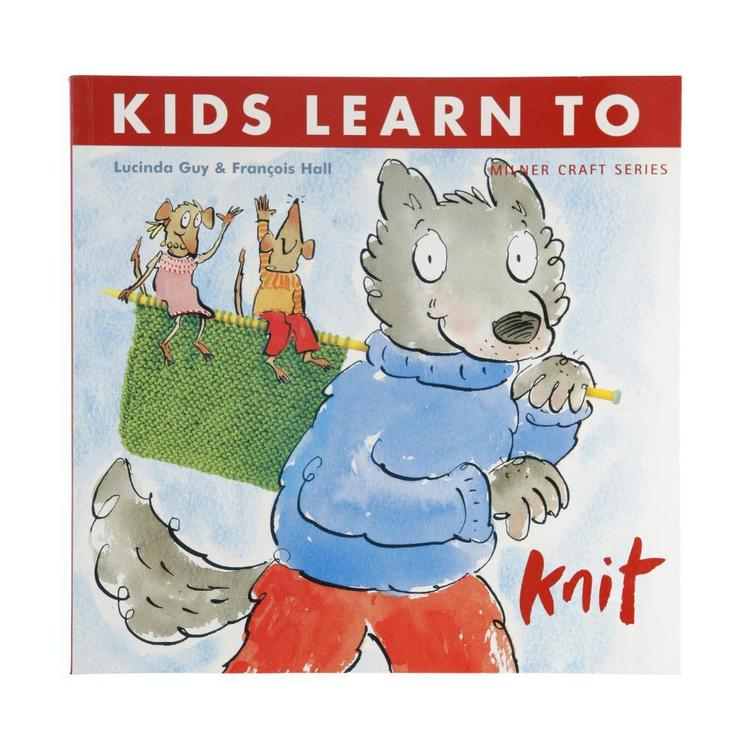 Sally Milner Publishing Kids Learn To Knit White