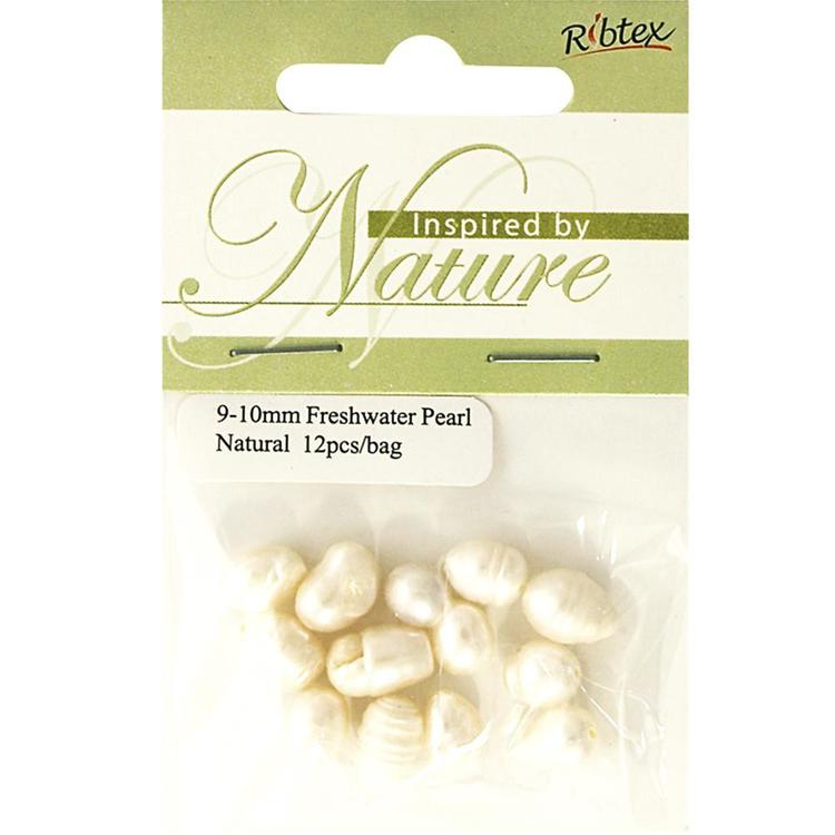 Ribtex Inspired by Nature Freshwater Pearls 12 Pack