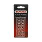 Janome 10 Pack Plastic Bobbins Clear