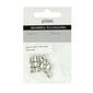 Ribtex Jewellery Accessories Cube Metal Spacers Dark Silver 6 mm