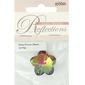 Ribtex Reflections Flower Glass Bead Multicoloured 28 mm