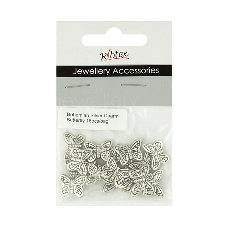 Ribtex Jewellery Accessories Butterfly Spacers