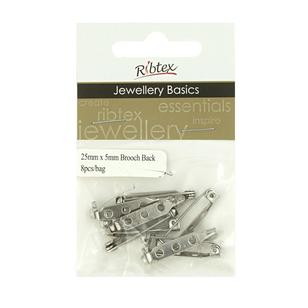 Ribtex Jewellery Basics Brooch Back