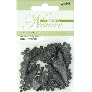 Ribtex Inspired By Nature Wood Seed Beads