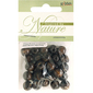 Ribtex Inspired By Nature Round Wood Beads 30 Pack