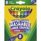 Crayola Washable Large Crayons Multicoloured