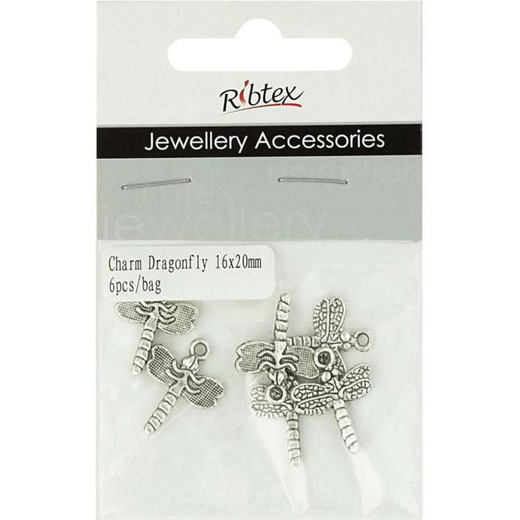Ribtex Jewellery Accessories Dragonfly Charm