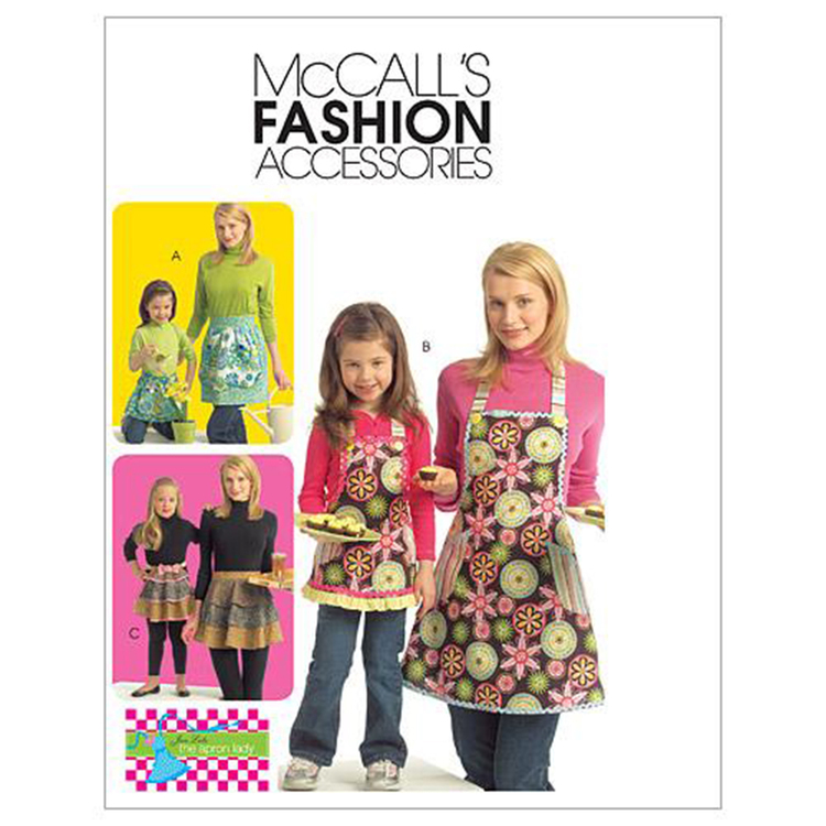 McCall's Pattern M5720 Girls' & Adults' Aprons