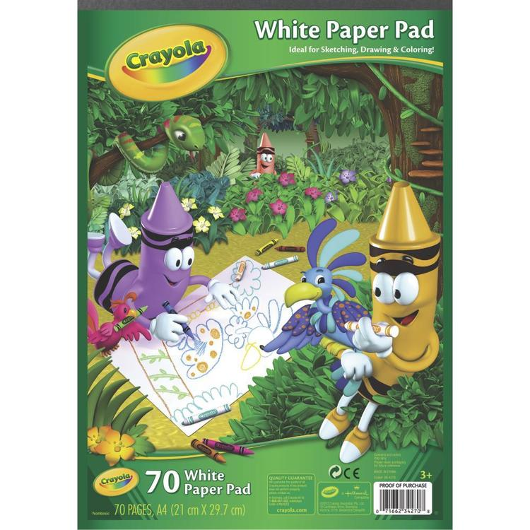 Crayola White Paper