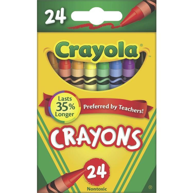 Crayola Crayon Tuck Box