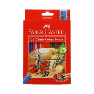 Faber Castell Classic Colour Pencils 36 Pack