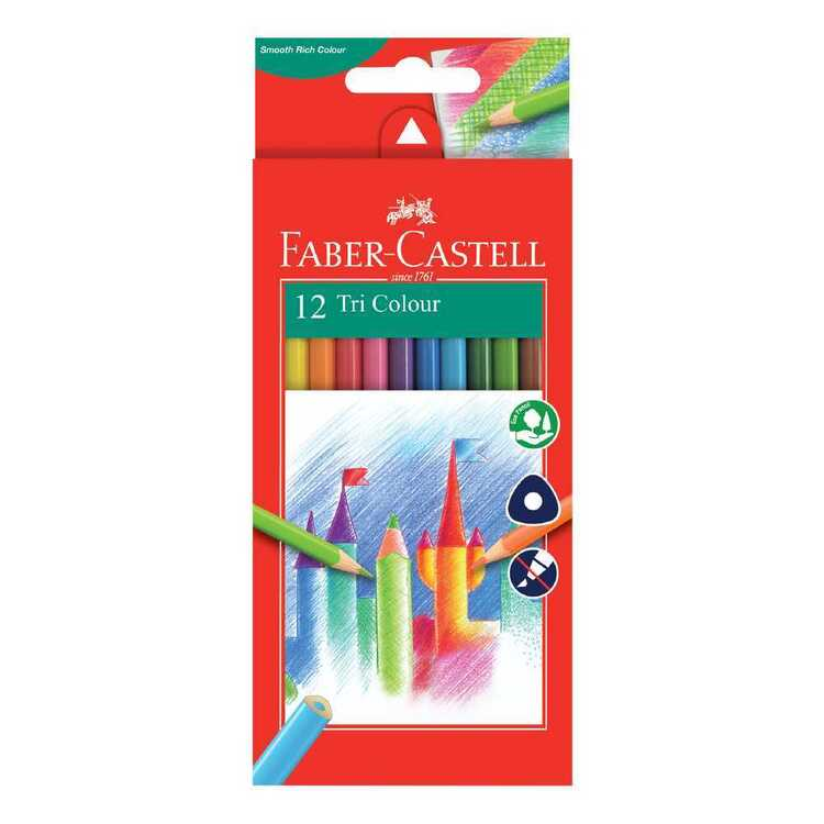 Faber Castell Tri-Grip Colour Pencils