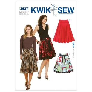 Kwik Sew Pattern K3637 Skirts
