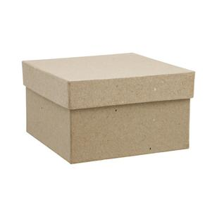 Shamrock Craft Papier Mache Square Box