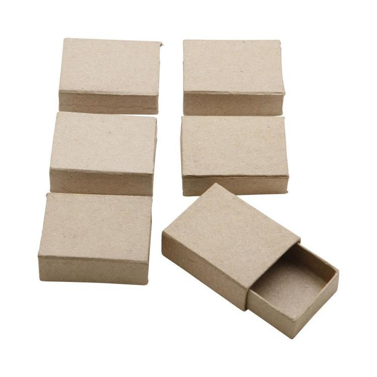 Shamrock Craft Papier Mache Box With Sleeve Natural